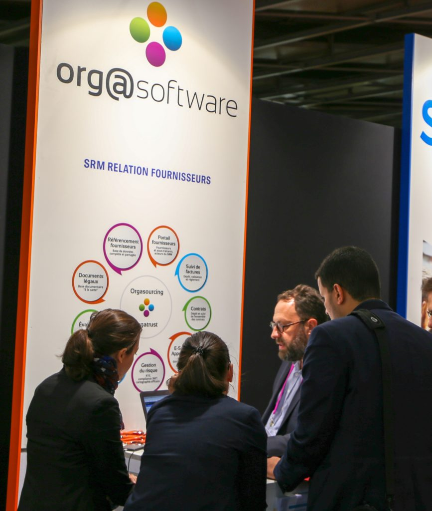 Salons Solutions : stand Orgasoftware