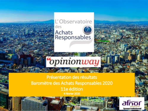 barometre achats responsables OBSAR 2020